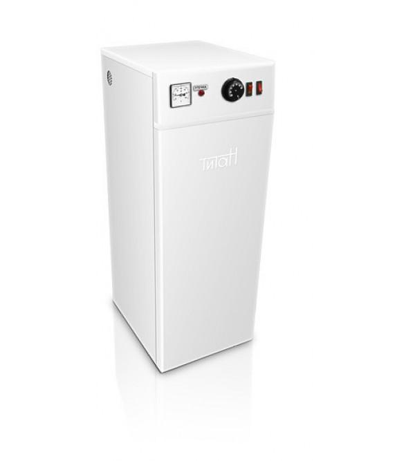 Котел электрический Титан напольный 3 кВт с бесшумной электронной коммутацией