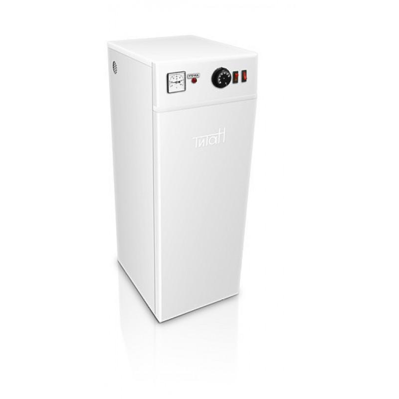 Котел электрический Титан напольный 4 кВт с бесшумной электронной коммутацией
