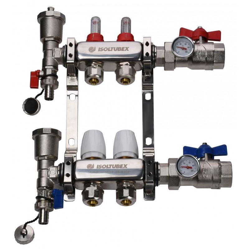 "Коллекторная система ISOLTUBEX NOX AISI-304 CO2 (1"" х  2)"