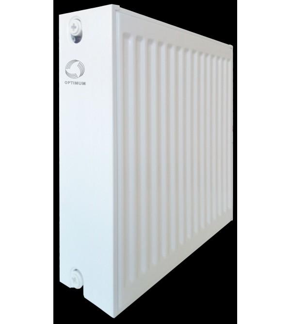 Радиатор стальной панельный OPTIMUM 33 бок 500x500