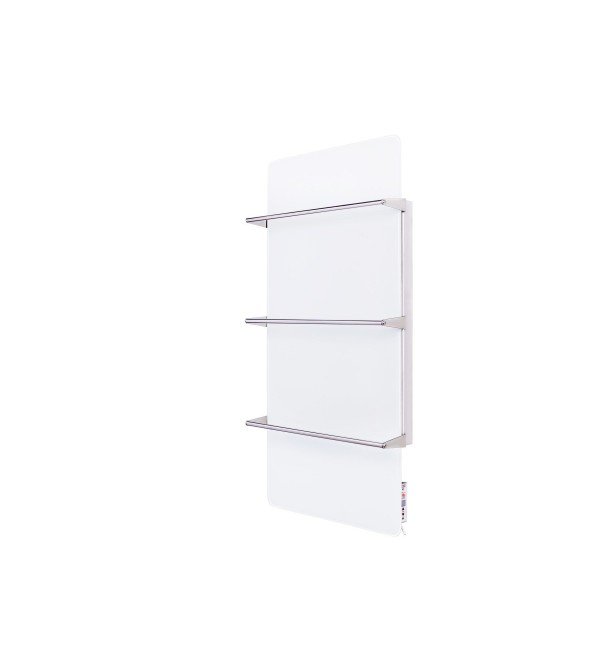 Електрический полотенцесушитель стекло SWGT-RA 450 (9003) 450х900х15