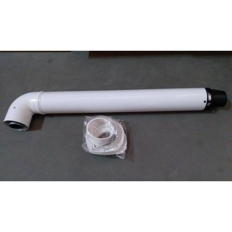 Дымоход коаксиальный Saunier Duval 750 мм, ø 60/100 мм, с коленом 71.M17.00.04