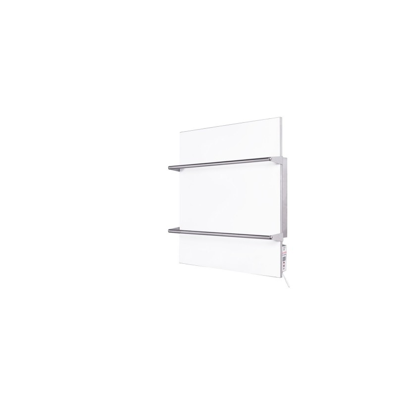 Електрический полотенцесушитель керамический TCMT-RA 400 (белый) 603х603х17