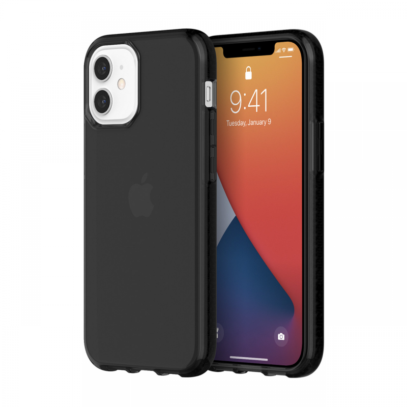 Чохол Griffin Survivor Clear for iPhone 12 mini - Black
