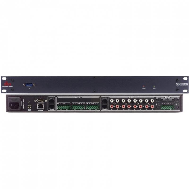 Зонный процессор dbx ZonePro 1261