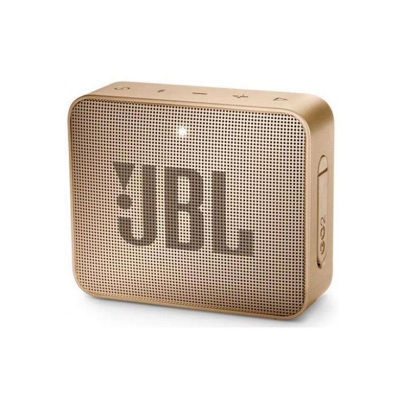 Колонка bluetooth JBL GO 2 Pearl Champagne (JBLGO2CHAMPAGNE)