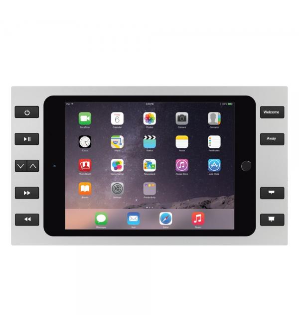 Настенная зарядная рамка iPort Bezel Mini 4 with 10 buttons Silver