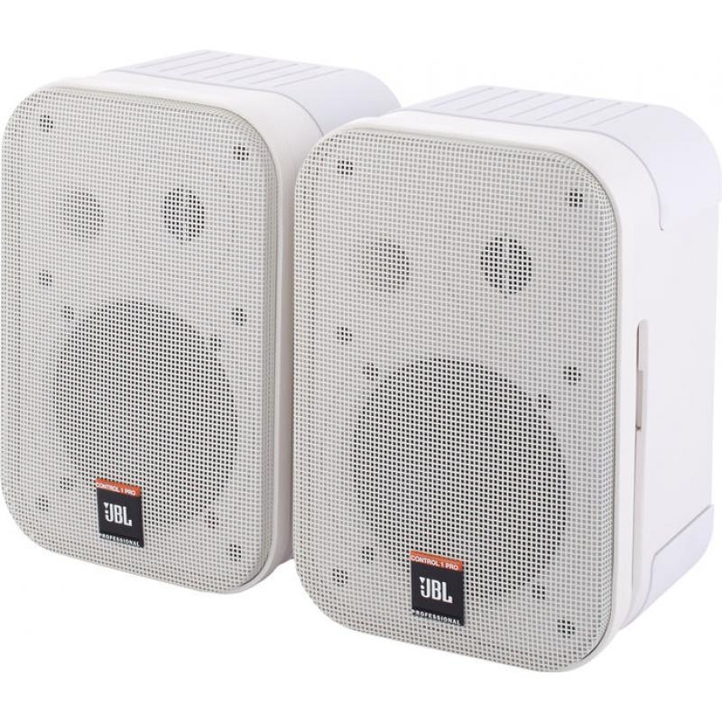 Инсталляционная акустика JBL CONTROL 1PRO WHITE комплект (2шт)