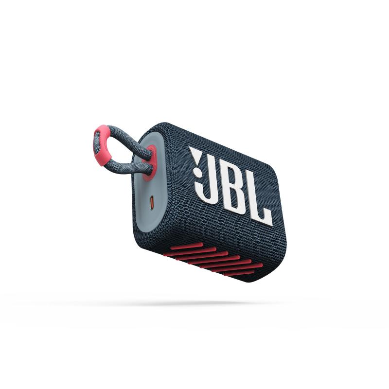 Колонка bluetooth JBL Go 3 Blue Coral (JBLGO3BLUP)