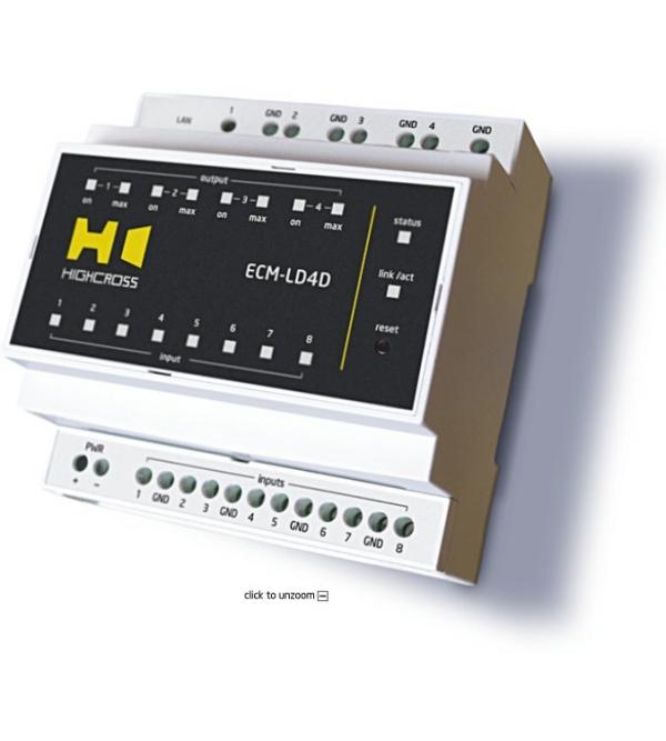 Модуль управления светодиодными линейками Highcross ECM-LD4D