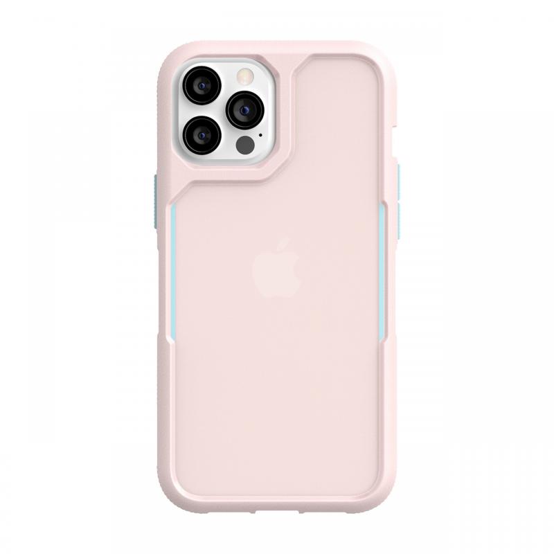 Чохол Griffin Survivor Endurance for iPhone 12 Pro Max - Cloud Pink/Sky Blue/Cloud Pink