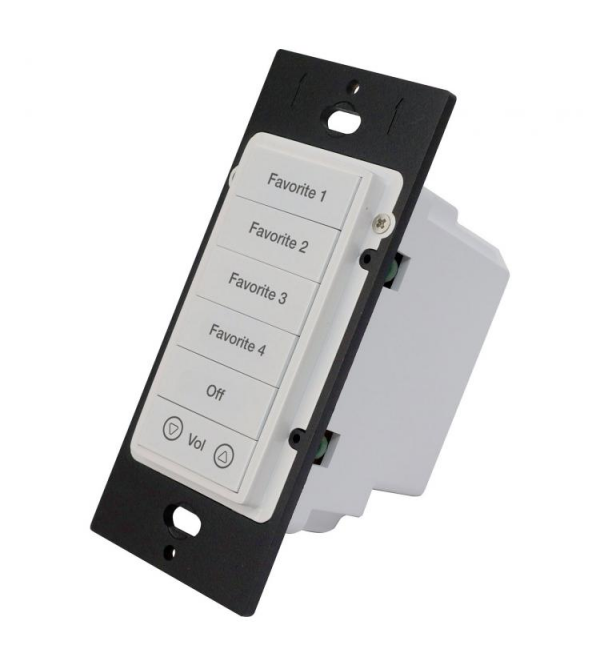 Панель управления ELAN 16 Button KP7 Color Change Kit - Black