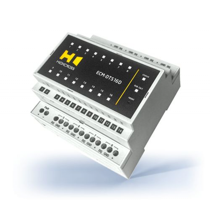 Модуль цифровых температурных датчиков DS18B20
