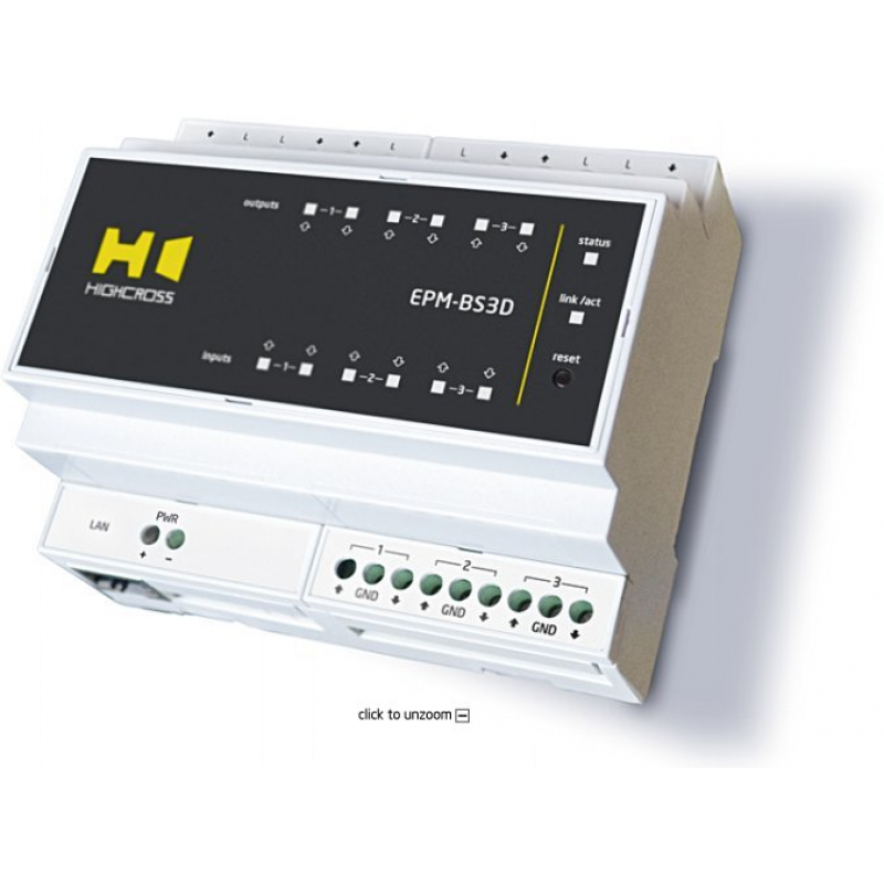 Модуль управления шторами и экранами Highcross EPM-BS3D