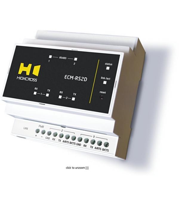 ECM-RS2DМодуль послідовних портів 2- канальний