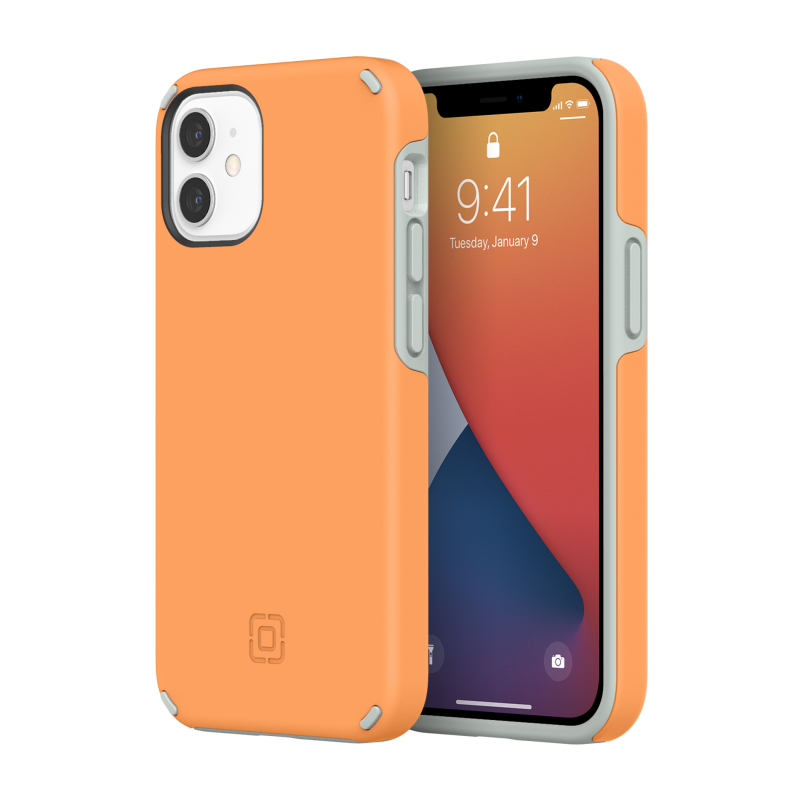 Чохол Incipio Duo Case for iPhone 12 mini - Clementine Orange/Gray