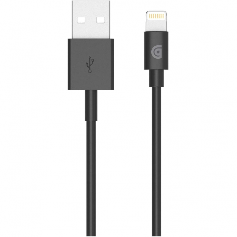 Кабель Griffin 1m Charge/Sync Cable, Lightning - Black