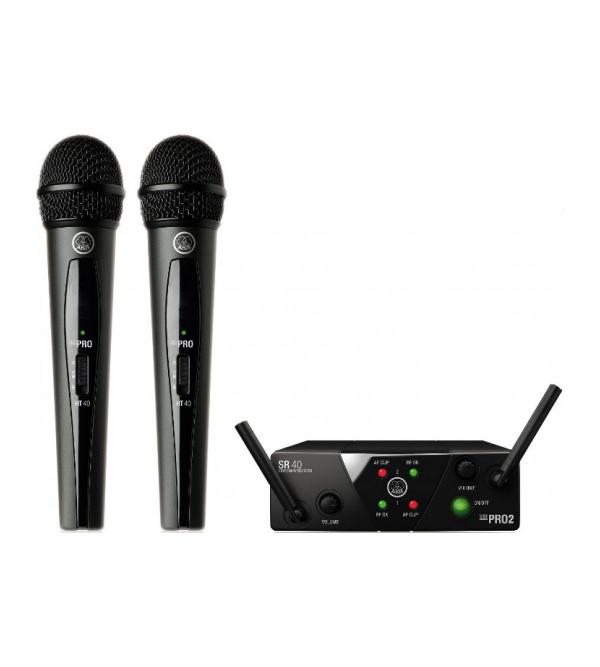 Аналоговая радиосистема AKG WMS40 Mini2 Vocal Set BD US45A/C EU/US/UK