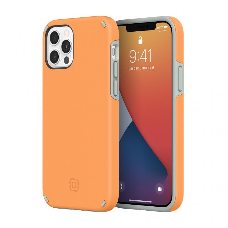 Чохол Incipio Duo Case for iPhone 12 Pro - Clementine Orange/Gray