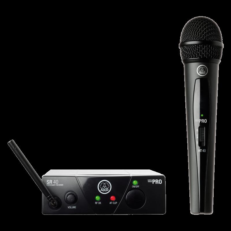 Аналоговая радиосистема AKG WMS40 Mini Vocal Set BD ISM2