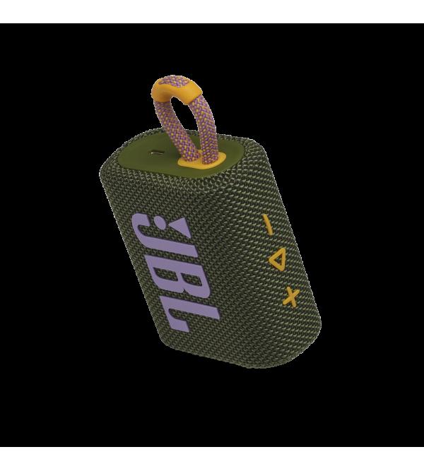 Колонка bluetooth JBL GO 3 Geen (JBLGO3GRN)