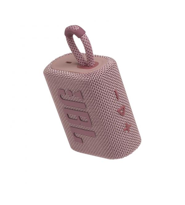 Колонка bluetooth JBL GO 3 Pink (JBLGO3PINK)