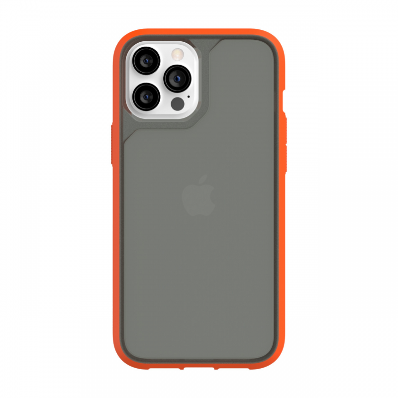 Чохол Griffin Survivor Strong for iPhone 12 Pro Max - Griffin Orange/Cool Gray