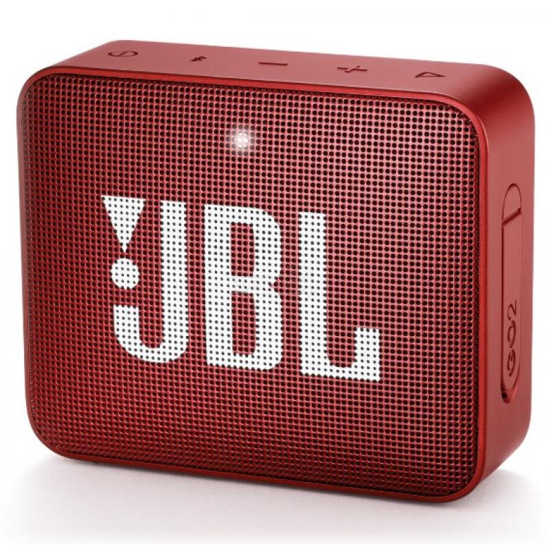 Колонка bluetooth JBL GO 2 Ruby Red (JBLGO2RED)