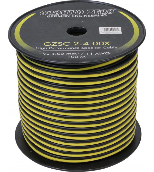 Акустический провод Ground Zero GZSC 2-4.00X