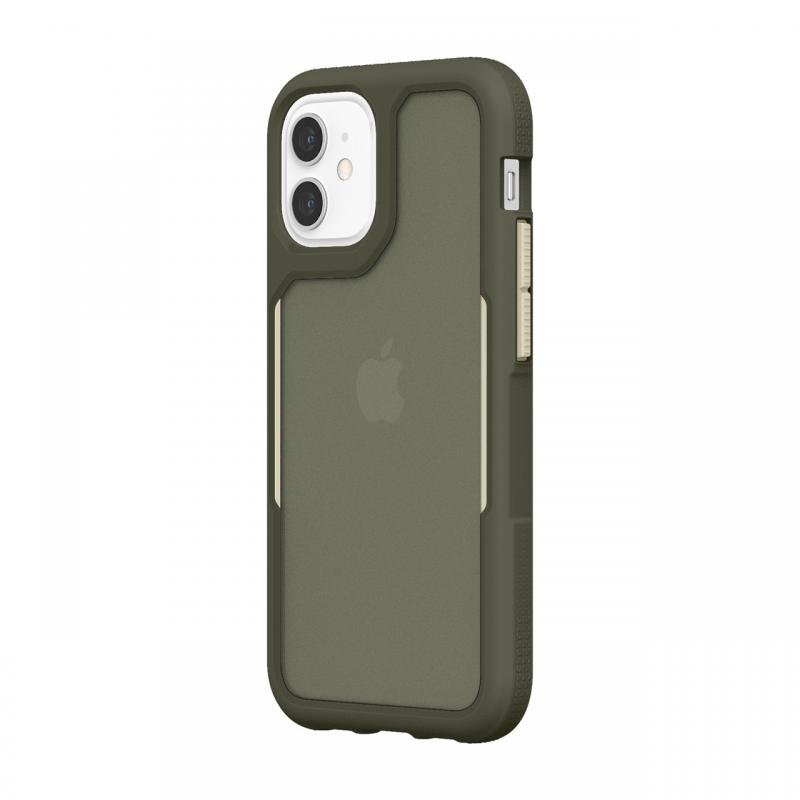 Чохол Griffin Survivor Endurance for iPhone 12 mini - Olive Green/Bone White/Smoke