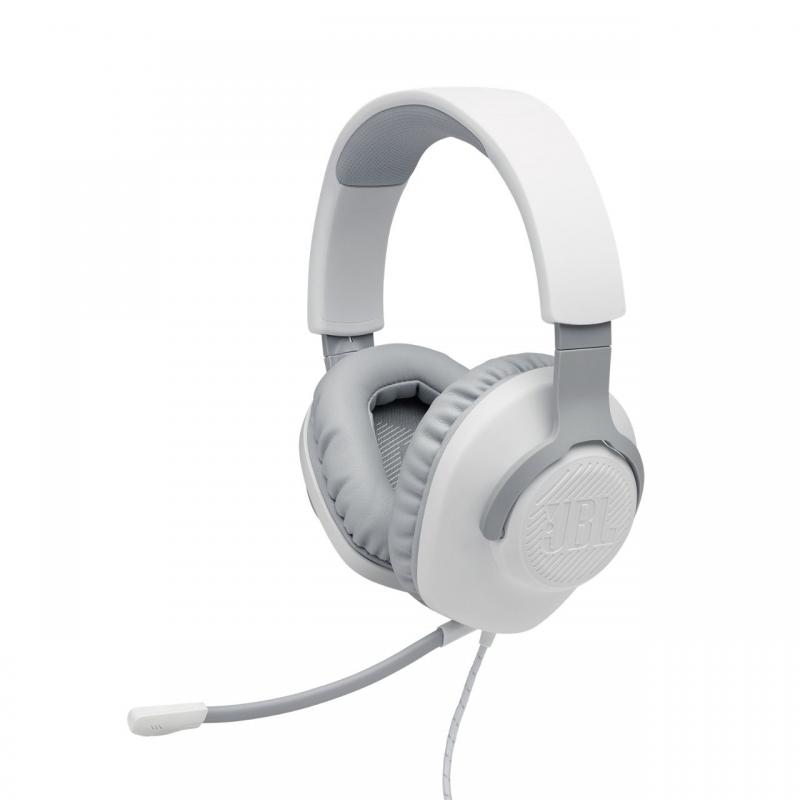 Игровая гарнитура JBL Quantum 100 White (JBLQUANTUM100WHT)
