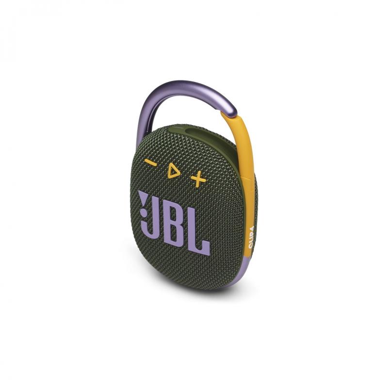 Колонка bluetooth JBL Clip 4 Green (JBLCLIP4GRN)