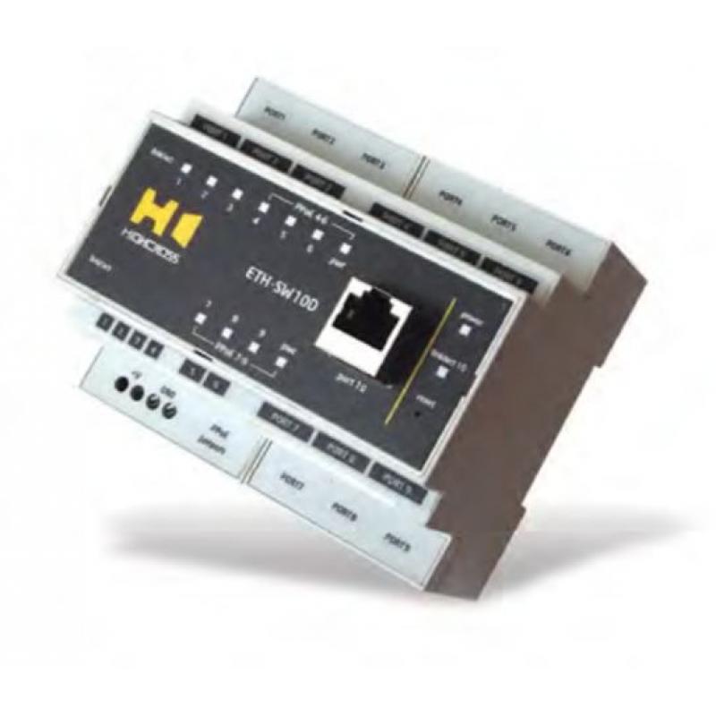 Сетевой коммутатор Highcross ETH-SW10D Ethernet, 10 портів FastEthernet, Din-rail