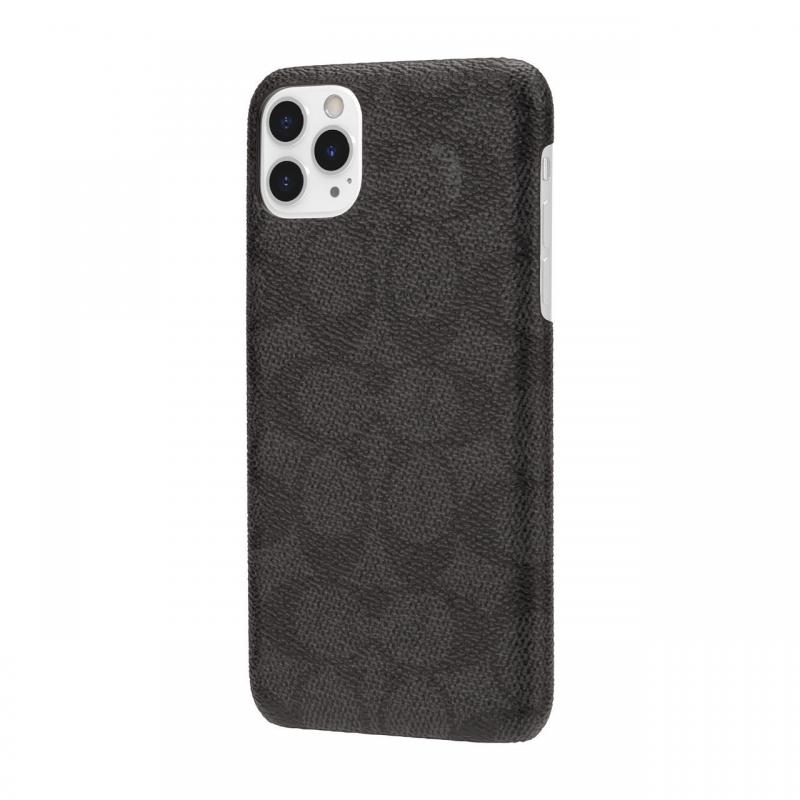 Чохол Coach Slim Wrap Case for Apple iPhone 11 Pro Max - Signature C Black