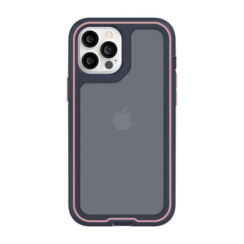 Чохол Griffin Survivor Extreme for iPhone 12 Pro Max - Navy/Rose Quartz