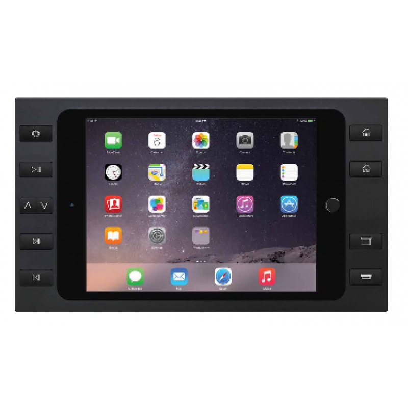 Настенная докстанция iPort Bezel Mini 4 with 10 buttons Black