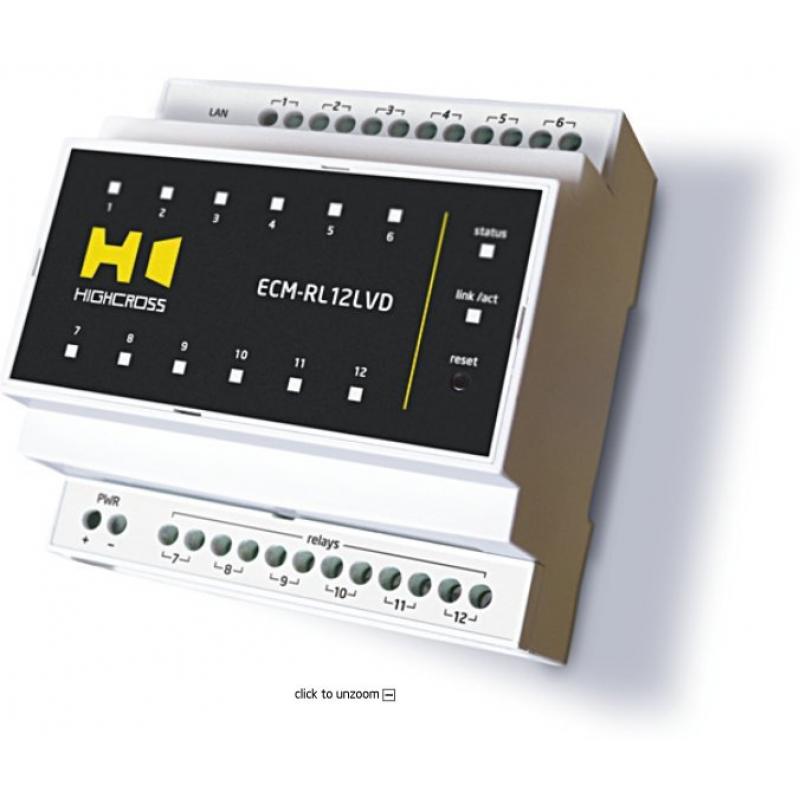 Модуль сигнальных реле Highcross ECM-RL12LVD