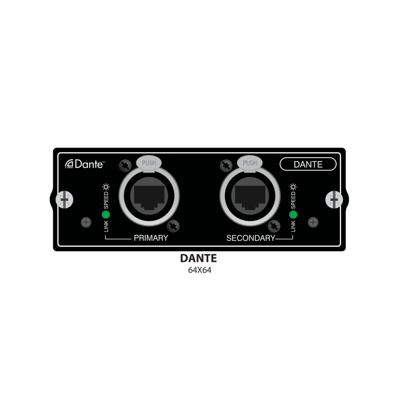 Карта расширения SOUNDCRAFT Dual port Cat 5 Dante  card