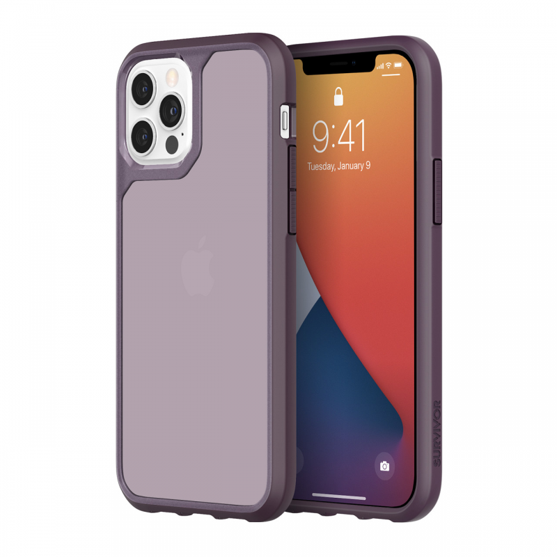 Чохол Griffin Survivor Strong for iPhone 12 Pro- Purple/Lilac