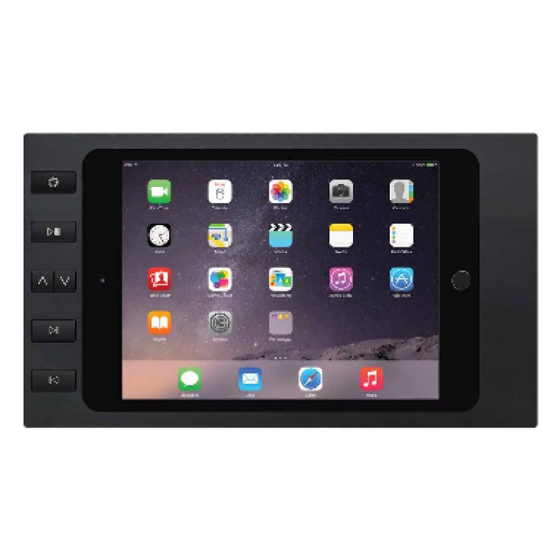 Настенная зарядная рамка iPort Bezel Air 1/2 Pro 9.7 with 6 buttons Black