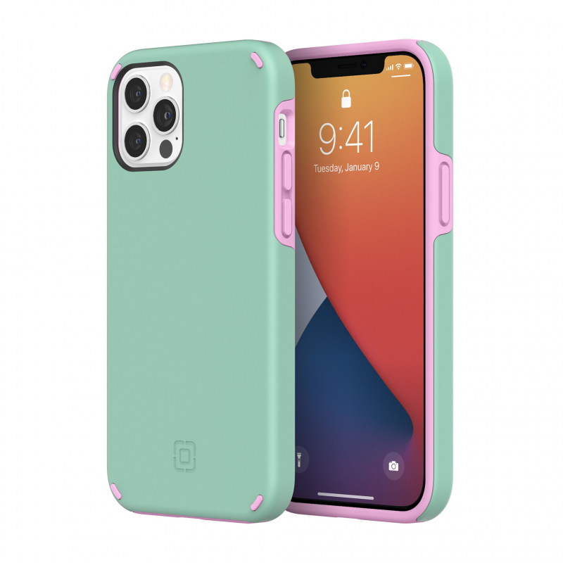 Чохол Incipio Duo Case for iPhone 12 Pro - Candy Mint/Pink