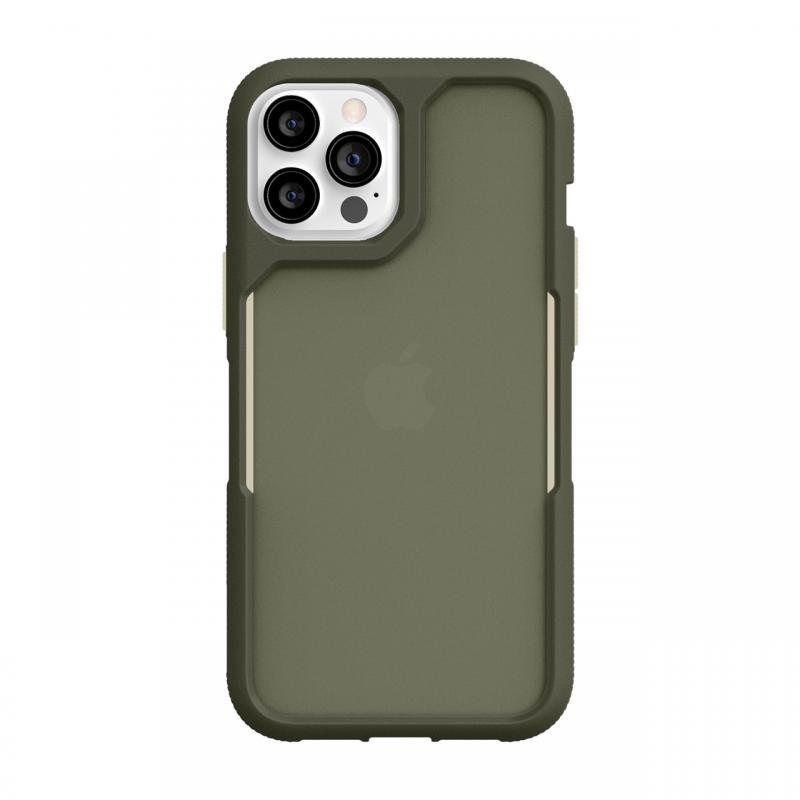 Чохол Griffin Survivor Endurance for iPhone 12 Pro Max - Olive Green/Bone White/Smoke