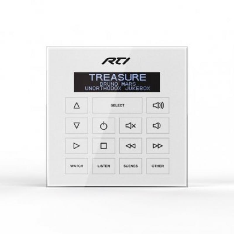 Панель управления RTI WK2