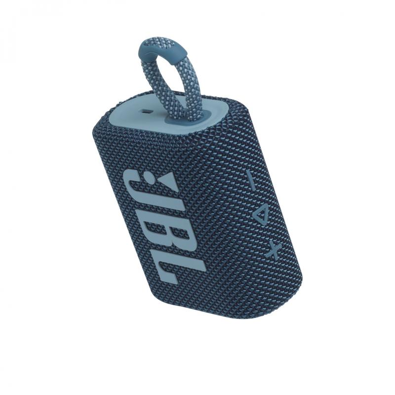Колонка bluetooth JBL Go 3 Blue (JBLGO3BLU)
