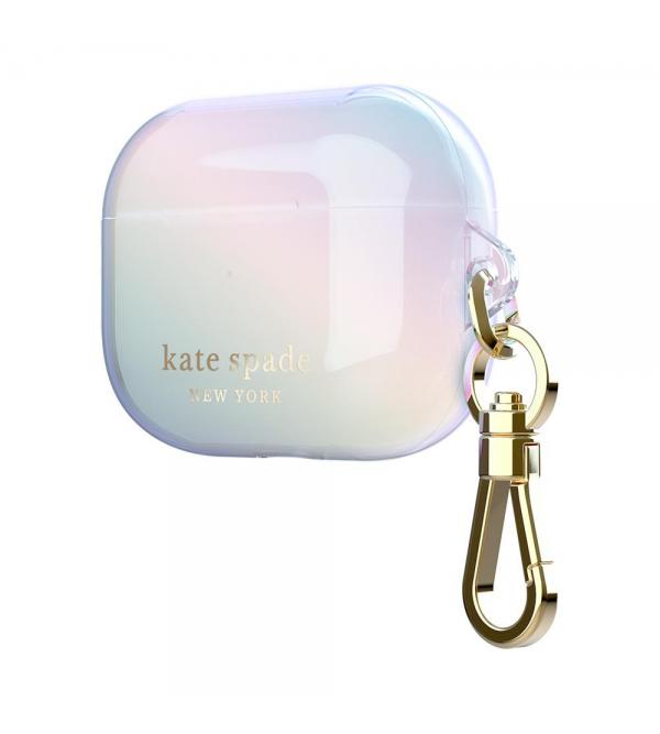 Kate Spade new york AirPods Pro Case - Iridescent/Gold Foil Logo