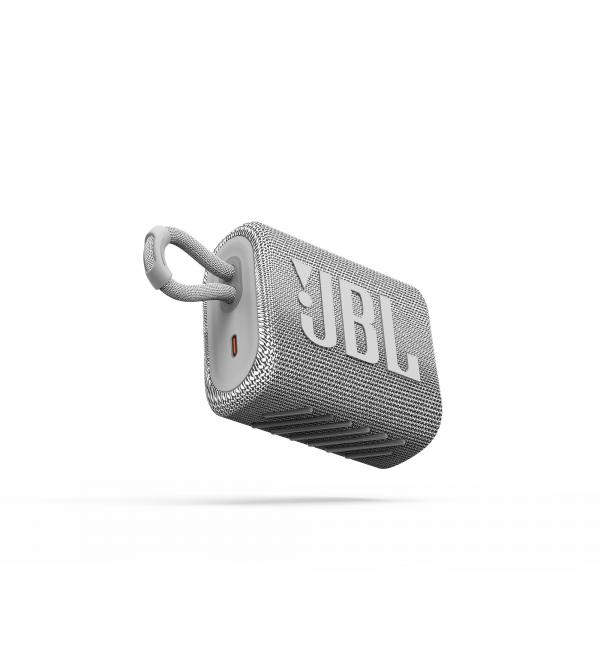 Колонка bluetooth JBL GO 3 White (JBLGO3WHT)