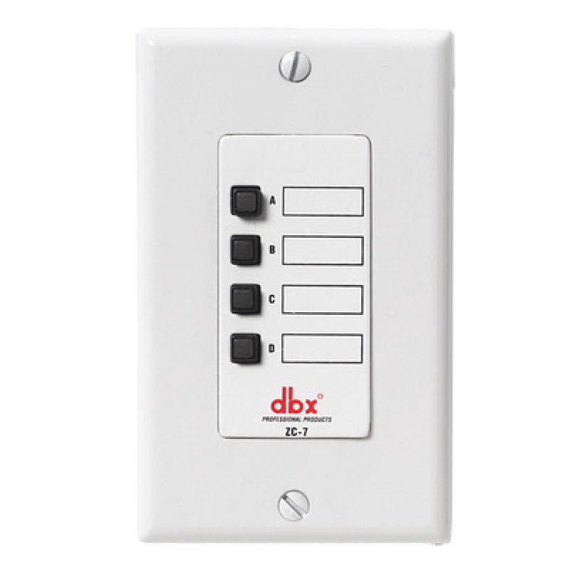 Настенный контроллер dbx ZC-7
